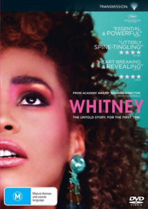 WHITNEY ~ The Untold Story For The First Time (REGION 4 DVD) *New & Sealed* 🎬
