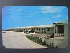 Daytona Beach Florida Sea Spray Lodge Vintage Color Chrome Postcard 1950s