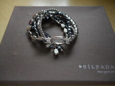 "Silpada Sterling Silver ""Hailstone"" Bracelet B1935 RETIRED  NEW!"