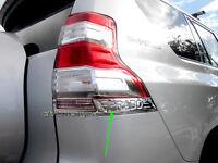 Chrome TailLight TailLamp Tail Light Lamp Trim Garnish for Toyota 150 2014up