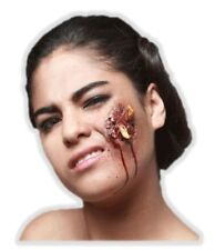 Pimple Popping Latex Appliance Halloween Infected Pus Wound Prosthetic Make-up