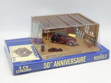 Norev 1/43 - Coffret 50e Anniversaire Diorama Citroen 2CV Charleston Atelier