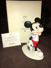 LENOX DISNEY MOUSEKETEER DAYS WITH MICKEY WALT DISNEY SHOWCASE NIB