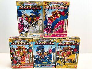 Power Rangers Ninja Steel Ninninger Mini Pla SHURIKENJIN MEGAZORD NEW FedEx F/S