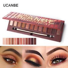 Ucanbe 12 Colors Molten Rock Heat Eye Shadow Shimmer Matte Makeup Palette