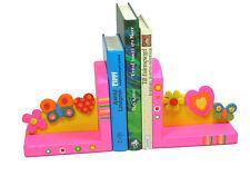 NEU*zuckerblau*Buchstütze SCHMETTERLING Kinderzimmer Geschenk Holz lackiert