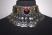 Afghanischer/Ethnischer/Orientalischer Schmuck - Halskette antik osmanisch hindi