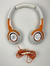 Sennheiser Deep Bass Kick Stereo HD229 White Orange Wired Headphones