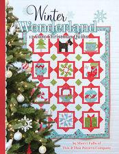 Winter Wonderland Quilt Pattern Book by Sherri Falls