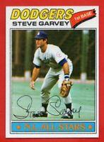 1977 Topps #400 Steve Garvey NEAR MINT/MINT+ Los Angeles Dodgers FREE SHIPPING