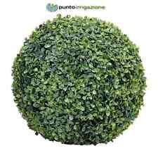 Sfera di bosso Verde Color VERDEMAX effetto naturale diametro 30 cm per vasi