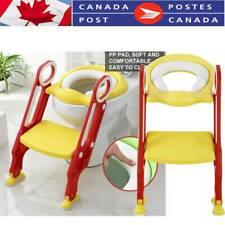 Children Foldable Toilet Seat potty with Ladder Toddler Training easy Step Up