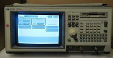 Hp Agilent 1660cs Logic Analyzer Oscilloscope With Setup Files Floppy Disk