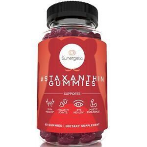 Premium Astaxanthin Gummies - with Clinically Studied AstaReal®