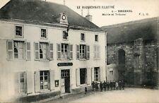 CARTE POSTALE /  ALLIER / LE BOURBONNAIS ILLUSTRE EBREUIL MAIRIE ET TRIBUNAL