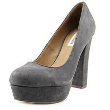 333946b0270 Steve Madden Womens Bettty Gray Dress PUMPS Platforms 10 Medium (b M) BHFO  3939