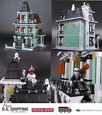 LEPIN Monster Fighter The Haunted House Model set Building Kits 2141Pcs