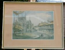 St Williams College York - a limited edition print signed by Sam Chadwick