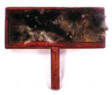 Antique Wool Carding Comb Wood Wire Wooden Hetchel Country Primitive