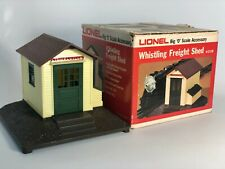 Lionel 2126 Whistling Freight Shed with Box