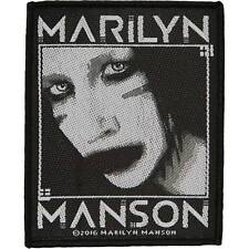 MARILYN MANSON - WOVEN PATCH - BRAND NEW - MUSIC BAND 2883