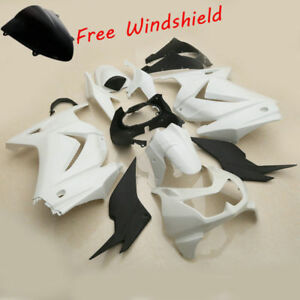 Unpainted Fairing Bodywork For Kawasaki Ninja 250R EX250J 2008-2012 2010 2011 12