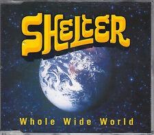 Shelter CD-Single whole wide world + foglio info