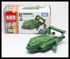 TOMICA THUNDERBIRDS 02 TB2 THUNDERBIRD 2 TOMY DIECAST CAR