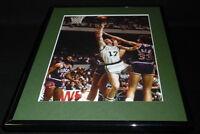 John Havlicek vs Alvan Adams Framed 11x14 Photo Display Celtics Suns
