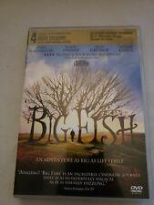 Big Fish Dvd Tim Burton(Dir) 2003 Free Shipping Pre-owned Tested