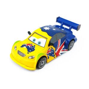 Disney Pixar Cars Frosty Australia 1:55 Diecast Metal Toy Car Loose Boys Gift