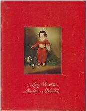 Vintage 1968 Gimbles / Schusters Christmas Catalog  mid century modern