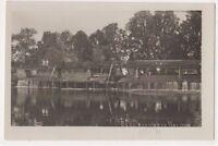 Beeleigh Weir Maldon Essex RP Postcard, B718