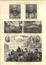 1889 The Rival Kings Of Samoa Hospital Tense British Consulate Tunbridge Wells