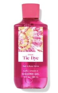 Bath & Body Works Pink Tie Dye Shower Gel 10 Oz New Sealed