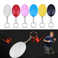 130dB Personal Alarm Keychain Rape Attack Panic Safety Torch Keyring Security AU