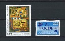 FRANCE - 1990 YT 2672 et 2673 TABLEAU d' ART - TIMBRES NEUFS** MNH LUXE