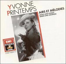 Yvonne Printemps: Arias and Songs by Yvonne Printemps