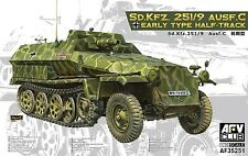 AFV Club 1/35 35251 Sd.Kfz.251/9 Ausf.C Half-Track Early Type