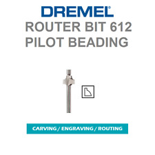 "NEW DREMEL 3/32"" 612 ROUND OVER BEADING ROUTER BIT 1/8"" SHANK ALL ROTARY TOOLS"