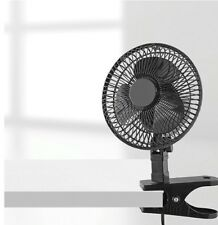 6-Inch Clip Fan Heavy Duty Spring Clip with Rubber Grip, Imported FREE SHIPPING