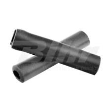 14380 Manopole bici 100% silicone fissaggio standard lungo 135mm colore nero