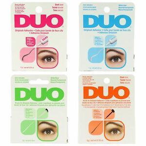 Ardell Duo Lash Adhesive Brush On False Eyelashes Glue Clear White & Dark