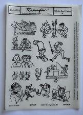 DDR Kult Typofix Haftdruckabreibfolie Rubbelbilder 4275 Wilhelm-Busch-Figuren 3