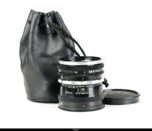 * Lens Schacht Alpa Altelar 2.8/90mm No.97479 For Alpa Reflex EX
