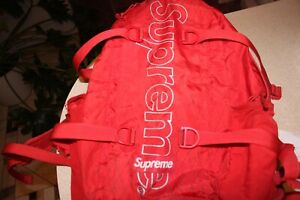 Supreme Backpack Red (FW18)