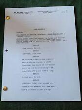 "The Big Bang Theory TV Script Final Draft ""The Catalina Alternative"" Episode 205"