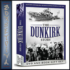 THE DUNKIRK STORY - DVD AND BOOK GIFT BOXSET  *BRAND NEW DVD**