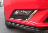 Seat Leon 5F 2012Up Chrome Fog Lamp Rim Cover 2pcs. S.STEEL