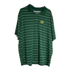 Nike golf Mens Xxl Dri-fit Oregon Ducks UofO Logo Polo Shirt